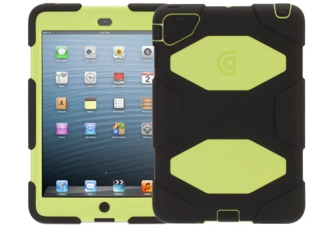 Griffin Survivor Case For iPad mini (Black & Citron)