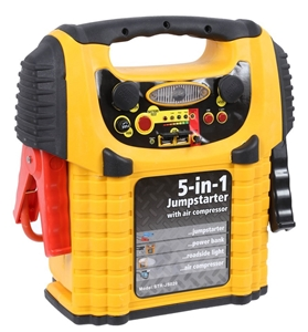 Combo 900amp Jump Starter With 12v17ah Battery C W Built