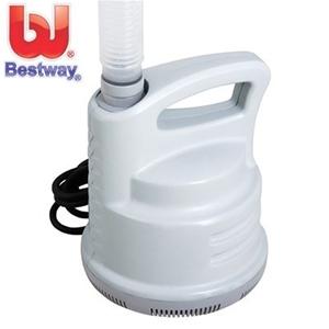 Buy bestway pool swimming pool drain pump 3 028l hour graysonline australia for How to empty a swimming pool without a pump