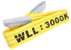 Flat Webb Lifting Sling, WLL 3,000kg x 1.5M (With Test Cert). Buyers Note -