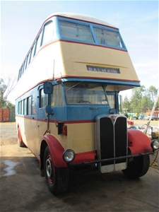 1947 Double Decker Bus (set up as camper) Make:AEC Mod