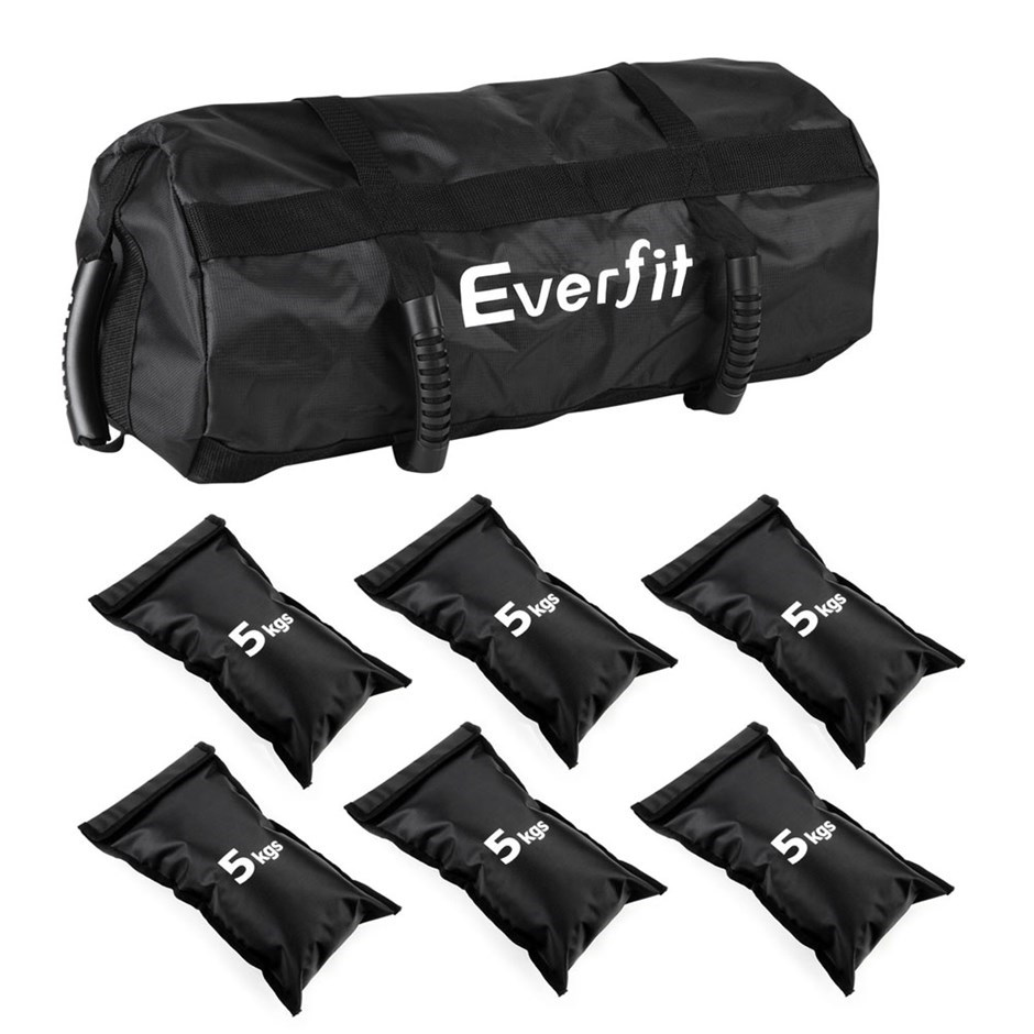 Everfit Sandbag Gym Training Weights 30kg