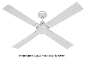 Omega casablanca white deluxe ceiling fan model ocf120wra auction omega casablanca white deluxe ceiling fan aloadofball Gallery