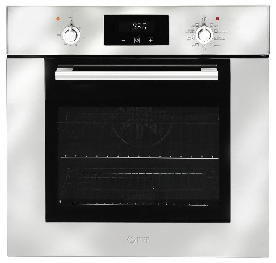 ILVE 60cm Stainless Steel Multifunction Oven (ILO691X)