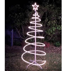 Buy 120cm white solar led spiral xmas tree rope light graysonline 120cm white solar led spiral xmas tree rope light aloadofball Gallery