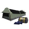 Weisshorn Double Size Canvas Tent- Celadon