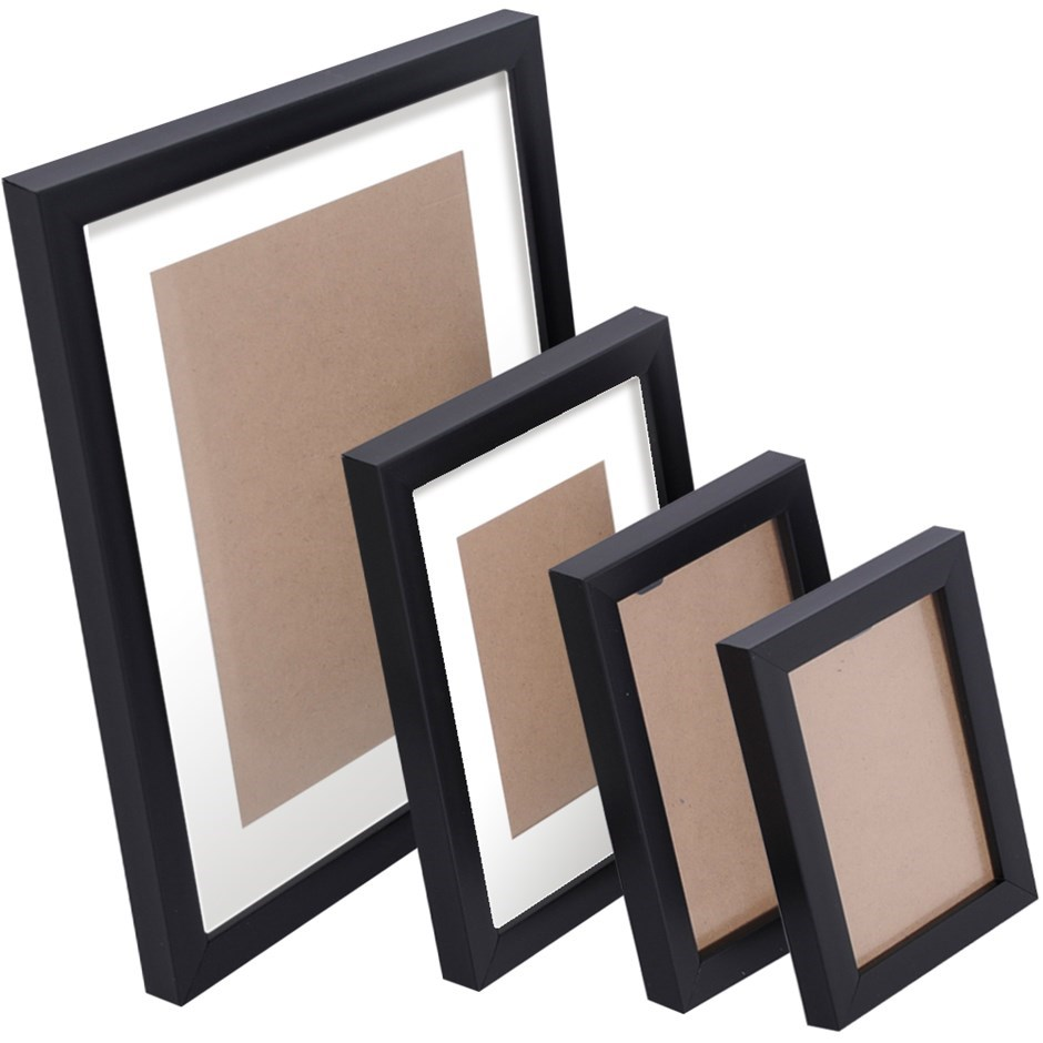26 Piece Photo Frames Set - Black