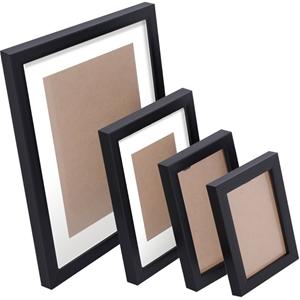 26 Piece Photo Frames Set - Black