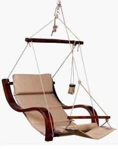 Cloud 9 Deluxe Hanging Chair Plain Biscuit Auction 0001 2037788 Graysonline Australia