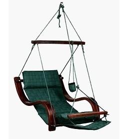 Cloud 9 Deluxe Hanging Chair Weave Green Auction 0005 2052082 Graysonline Australia