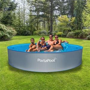 brand new portapool above ground splasher round swimming pool auction graysonline. Black Bedroom Furniture Sets. Home Design Ideas