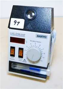 Melting point apparatus with digital display. Sanyo MPD350 ...