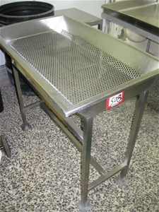 Stainless Steel Perforated Drain Tray Ta