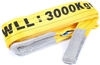 Flat Webb Lifting Sling, WLL 3,000kg x 4M (With Test Cert). Buyers Note - D