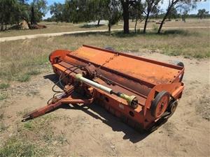 Taarup mulcher, hydraulic ram, 3000mm, 1500kg, PTO driven