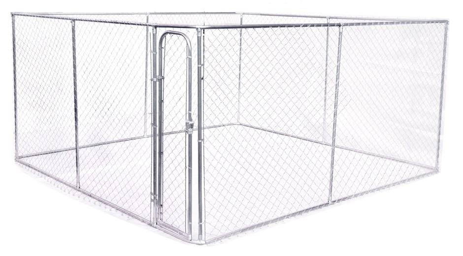 4 x 4m Pet Enclosure Dog Kennel Run Animal Fencing Fence