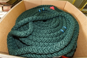 Approx 270ft Jeyco fast rope (40mm swarming rope) condition unknown (214402