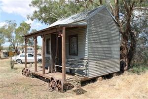 Bungalow portable building approx l x w x for Portable bungalow for sale