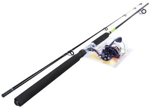 BERKLEY 8ft 2pc Combo Spin Fishing Rod,