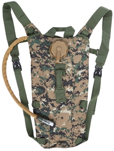 Canvass Hydration Pack 3Ltr, Army Camo.