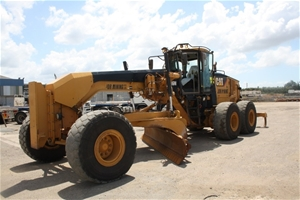 2012 Caterpillar 16m Motor Grader Located Brisbane