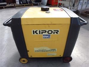 Kipor Digital Generator, Model: IG6000 Sienmaster, petrol, electric start