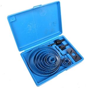 BERENT 16pc Hole Saw Kit, Sizes: 19, 22,