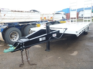 Payload Trailers S A Tag Flat Bed Plant Dog Trailer