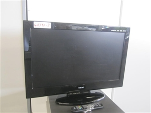 Teac 32 Lcd Hd Tv With Built In Dvd Player And Remote Auction 0002