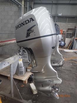 2 x HONDA 225HP 4 stroke OUTBOARD Motors