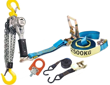 Rigging, Load Restraints & Shackles