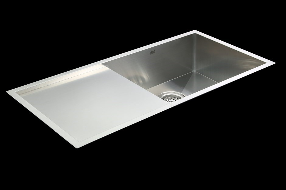 960x450mm Handmade Stainless Steel Undermount / Topmount Kitchen Sink