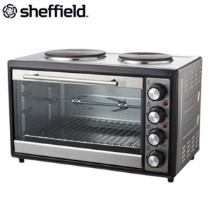 Buy Sheffield Table Top Oven W Dual Hot Plates
