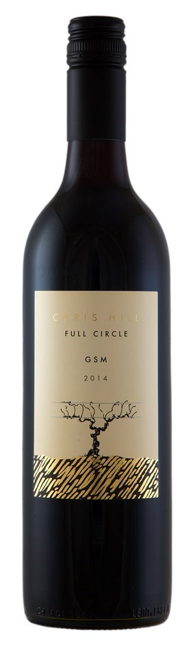 Chris Hill `Full Circle` GSM 2014 (12 x 750mL), SA.