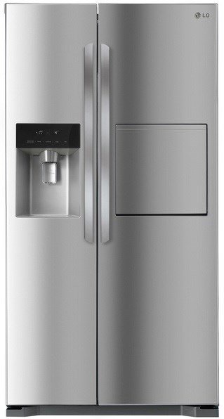 LG 563L Stainless Steel Side By Side Refrigerator (GC-P197HPL)