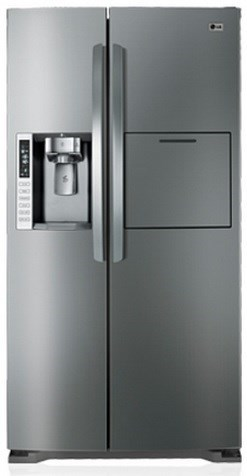 LG 693L Stainless Steel Side By Side Refrigerator (GR-P247STSL)